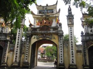 Tam quan chùa Bộc