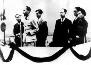 Hồ Chí Minh tuyên bố thành lập Việt Nam Dân chủ Cộng hòa